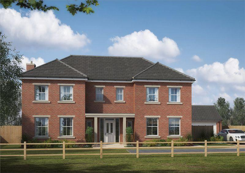 4 Bedrooms Detached House for sale in The Leas, Medburn, Newcastle.