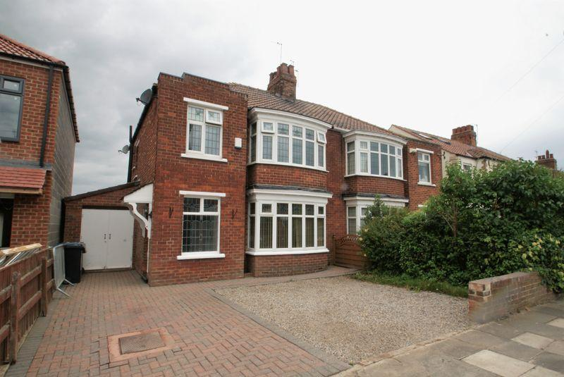 3 Bedrooms Semi Detached House for sale in Kingston Avenue, Middlesbrough