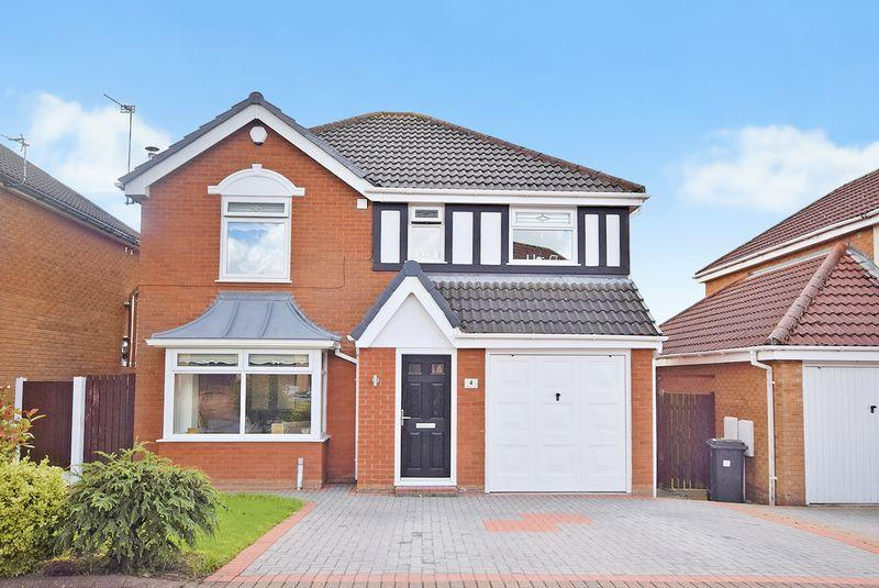 4 Bedrooms Detached House for sale in Holborn Court, Widnes