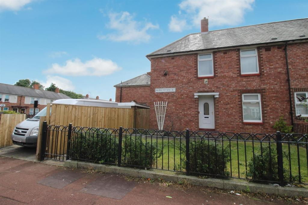 3 Bedrooms End Of Terrace House for sale in Norbury Grove, Newcastle Upon Tyne