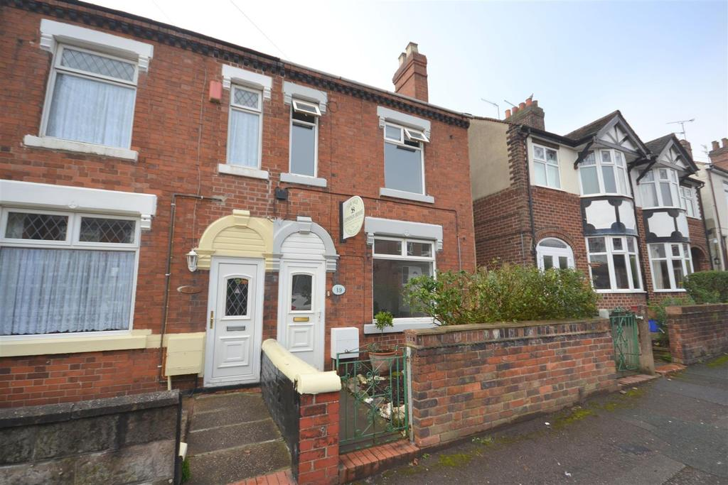 2 Bedrooms Semi Detached House for sale in Dimsdale View East, Porthill, Newcastle