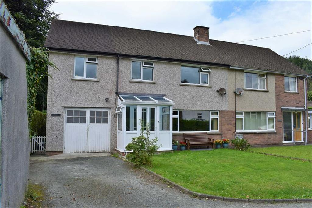 5 Bedrooms Semi Detached House for sale in Afallon, Newtown Road, Machynlleth, Powys, SY20