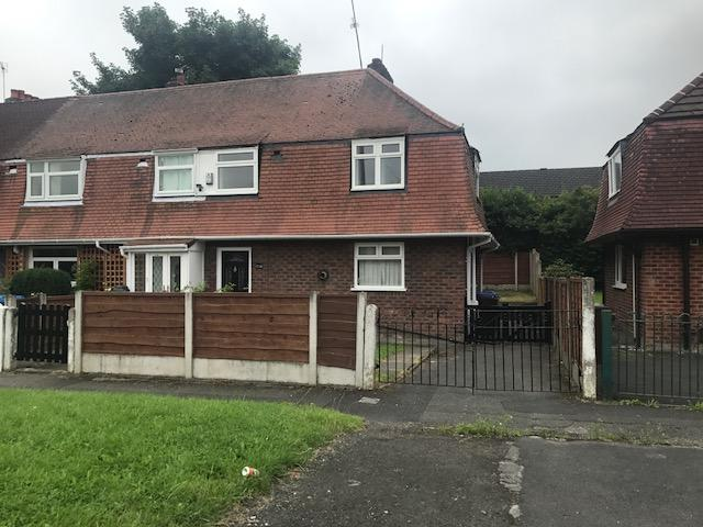 3 Bedrooms End Of Terrace House for sale in Hollyhedge Road, Benchill, Manchester M22