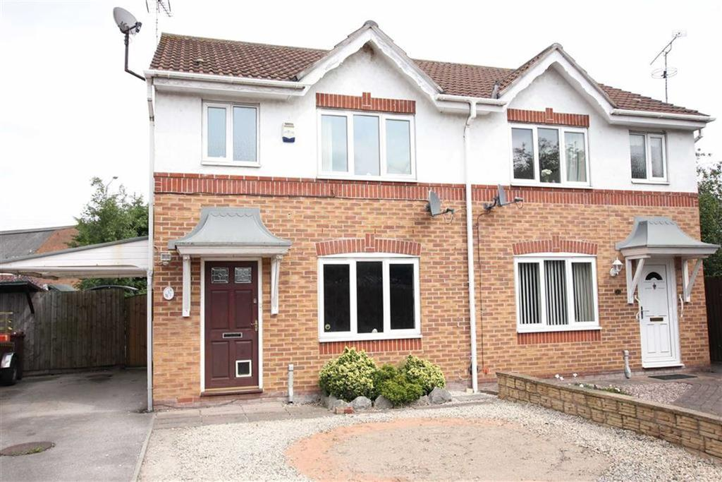3 Bedrooms Semi Detached House for sale in Cledwen Road, Broughton, Chester