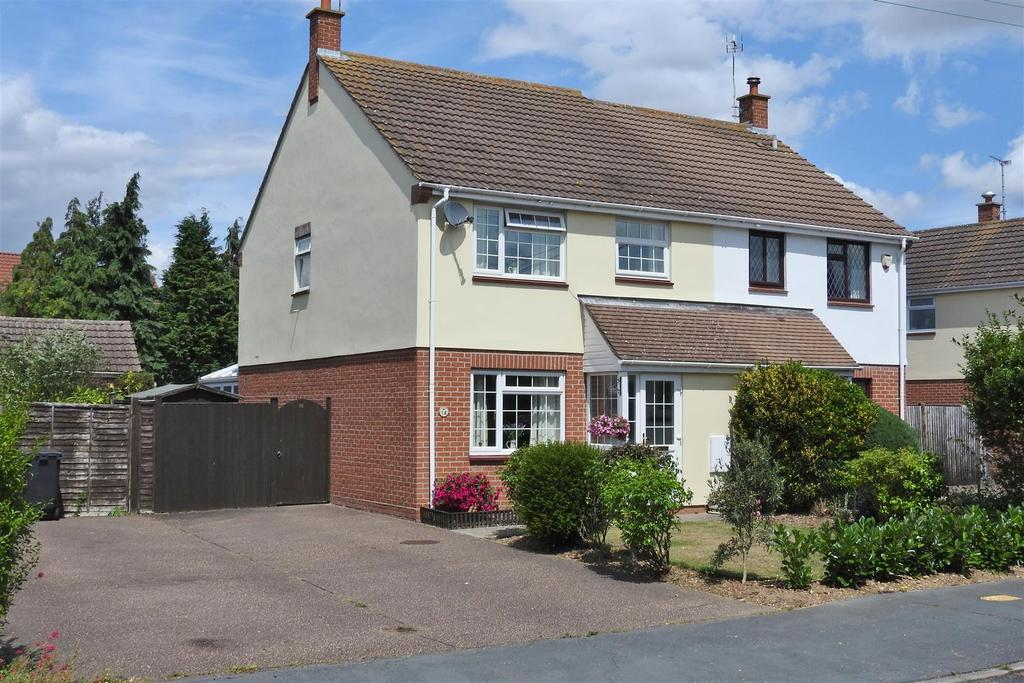 4 Bedrooms Semi Detached House for sale in Remembrance Avenue, Hatfield Peverel, Chelmsford
