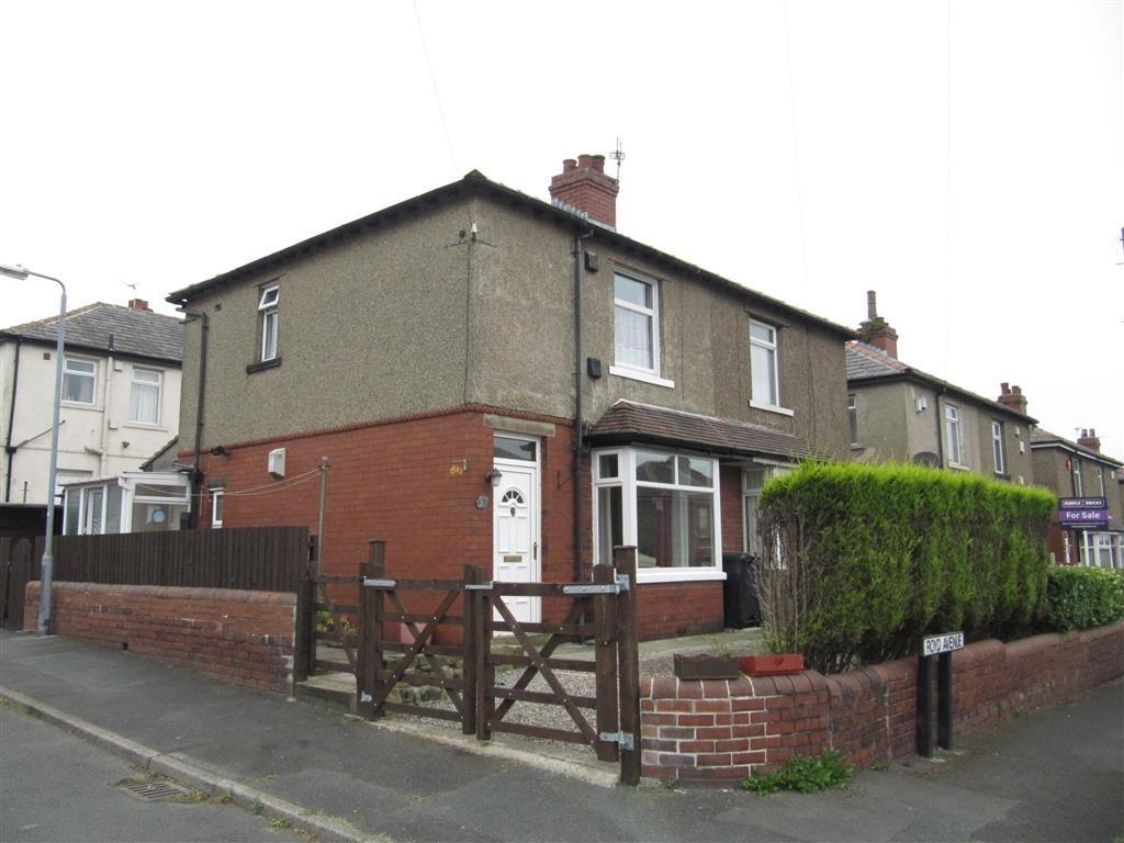 2 Bedrooms Semi Detached House for sale in Royd Avenue, Ainley Top, Huddersfield, HD3
