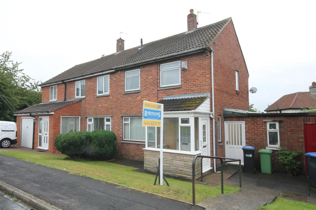 2 Bedrooms Semi Detached House for sale in Elm Avenue, Sedgefield, Stockton-On-Tees