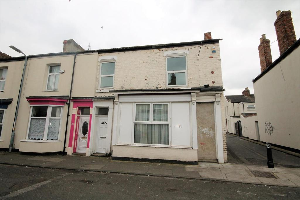 4 Bedrooms End Of Terrace House for sale in Edwards Street, Stockton-On-Tees
