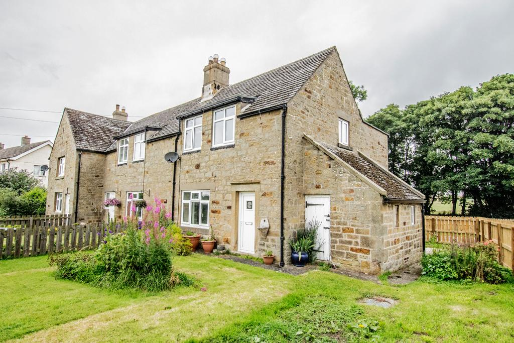 3 Bedrooms End Of Terrace House for sale in Fenwick Cottages, Fenwick, Nr Matfen NE18