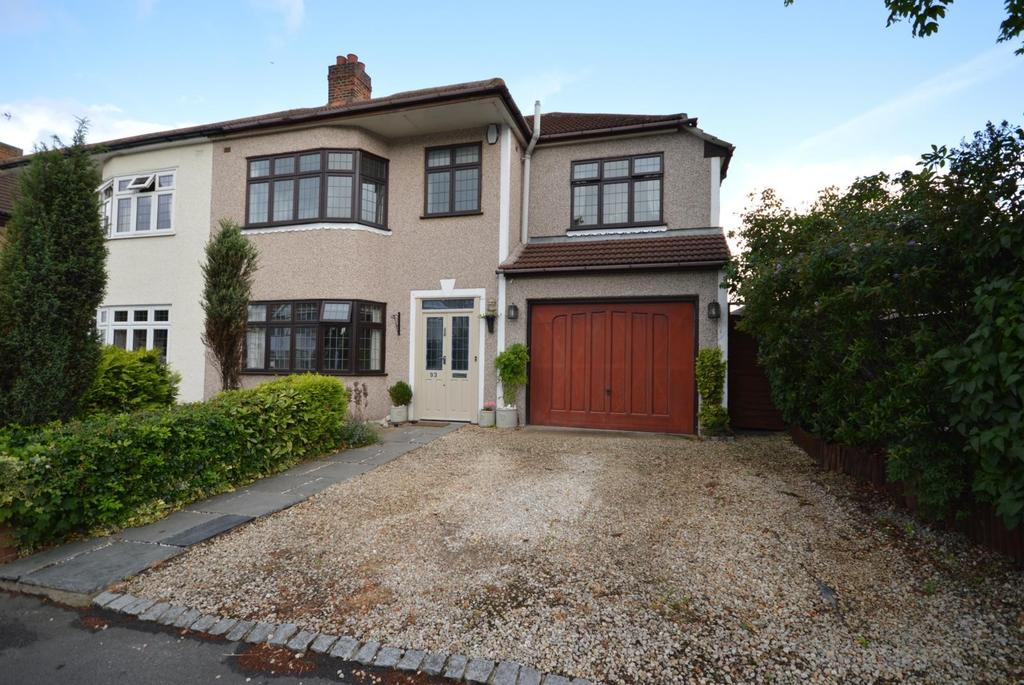 4 Bedrooms Semi Detached House for sale in Cecil Avenue, Hornchurch, Essex, RM11