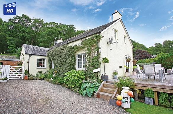 3 Bedrooms Detached House for sale in Altskeith Cottage Kinlochard, Aberfoyle, FK8 3TL