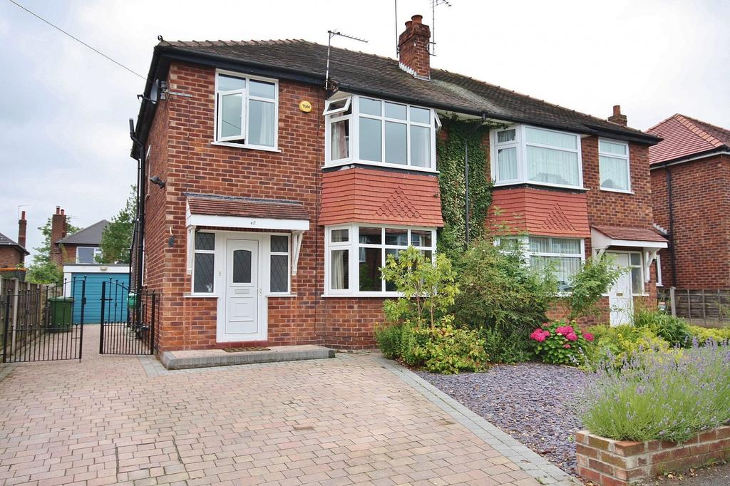 3 Bedrooms Semi Detached House for sale in Marlow Drive, Handforth