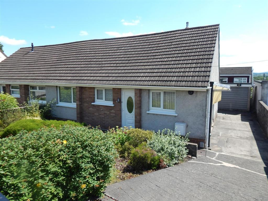 2 Bedrooms Semi Detached Bungalow for sale in Andrew Crescent, Ynysforgan, Swansea
