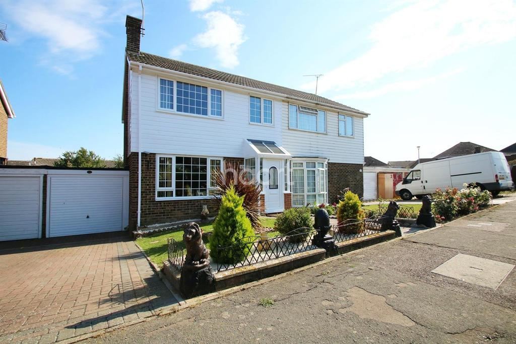 3 Bedrooms Semi Detached House for sale in Imperial Drive, Warden Bay, Kent, ME12 4SB