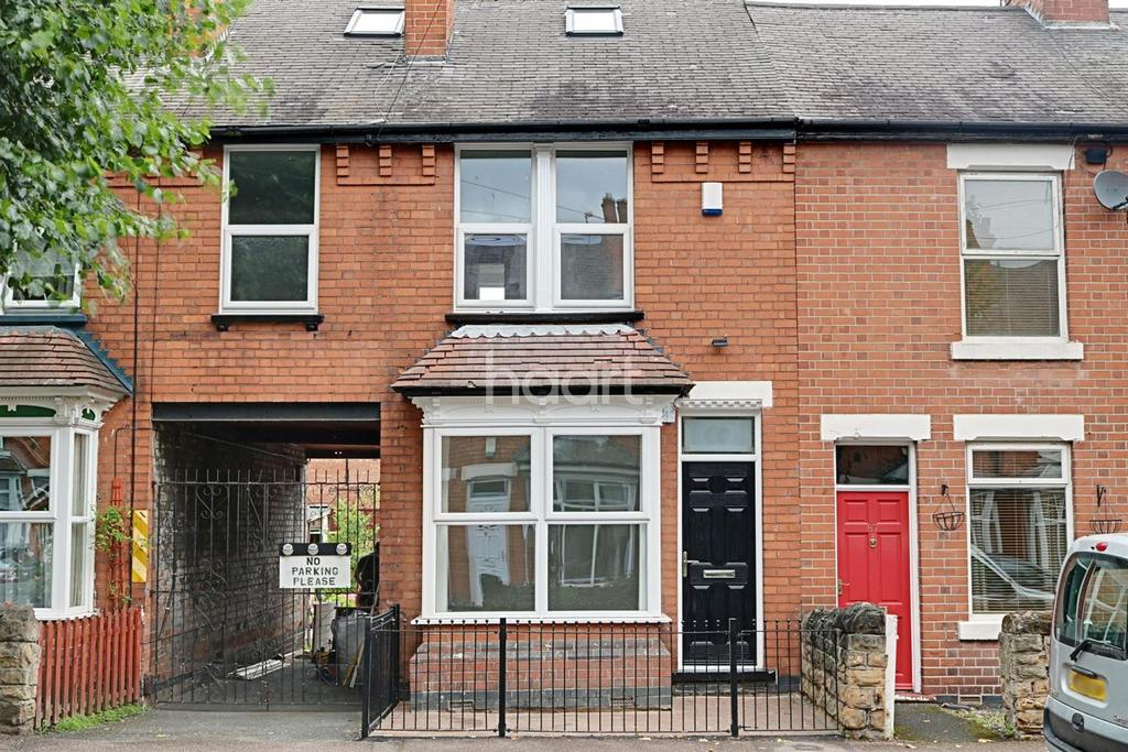 4 Bedrooms Terraced House for sale in Portland Road, West Bridgford, Nottingham