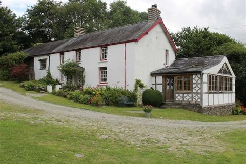 3 bedroom property with land for sale - Abermeurig, Lampeter