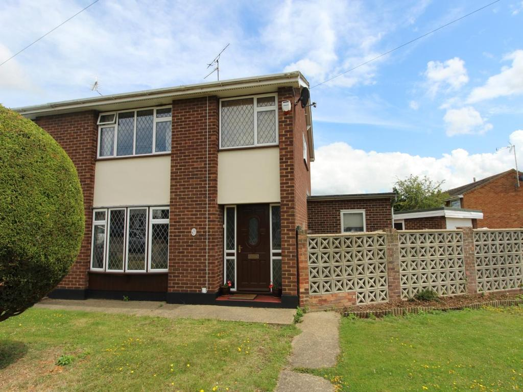 3 Bedrooms Semi Detached House for sale in Chelmer Road, Witham, Essex, CM8