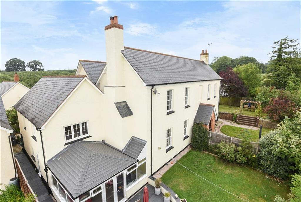 4 Bedrooms Semi Detached House for sale in The Paddock, Strete Ralegh, Whimple, Devon, EX5