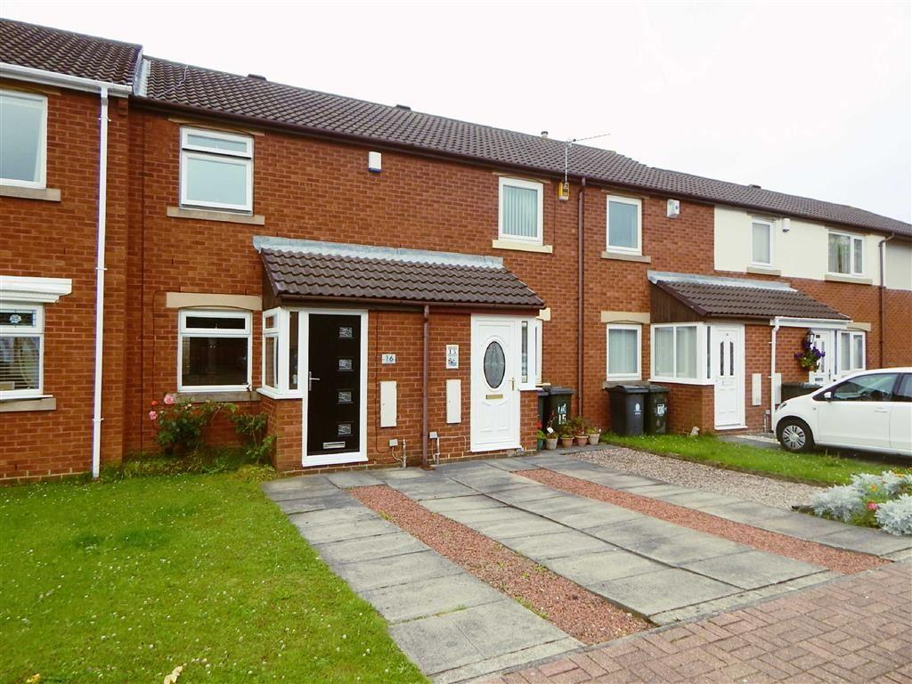 2 Bedrooms Terraced House for sale in Littondale, Hadrian Lodge, Wallsend, NE28