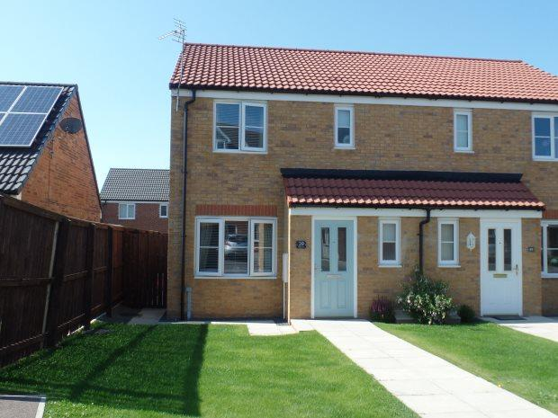 3 Bedrooms Semi Detached House for sale in POPPY LANE, SHOTTON, PETERLEE AREA VILLAGES
