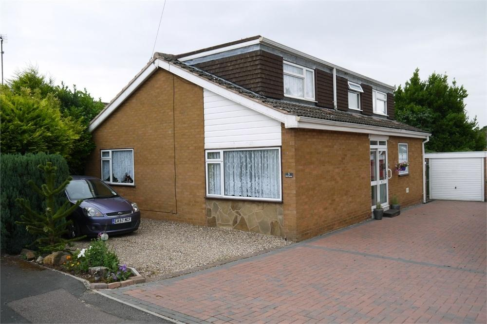 4 Bedrooms Detached Bungalow for sale in Mill Grove, Lutterworth, Leicestershire