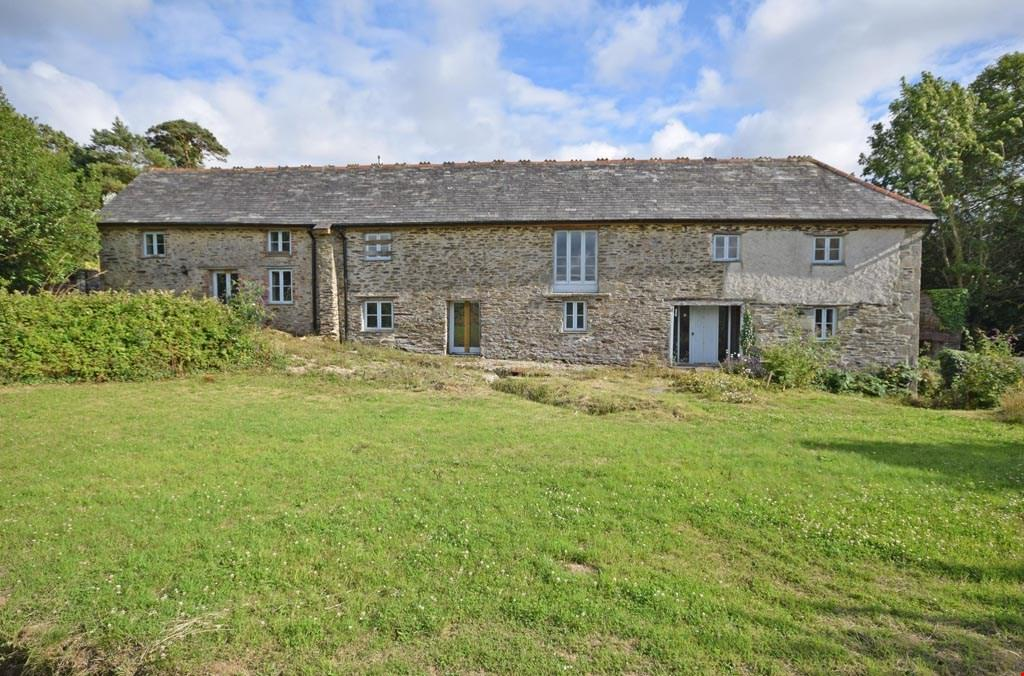 4 Bedrooms Barn Conversion Character Property for sale in Nr. Tresillian,Truro, Cornwall, TR2
