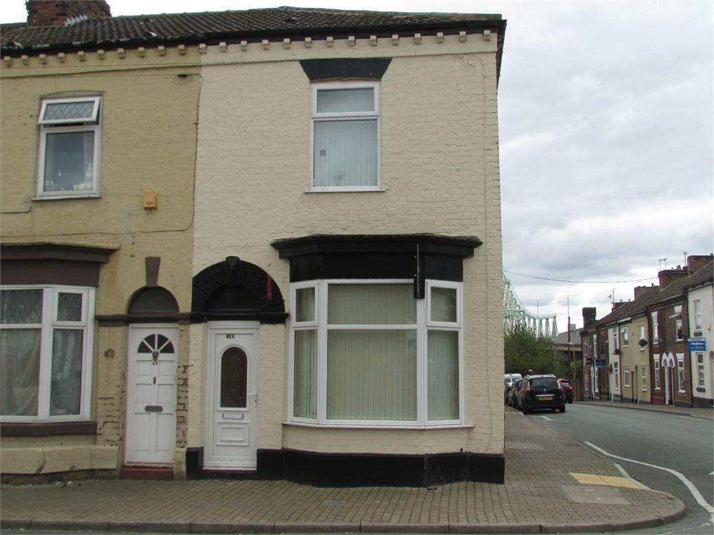 2 Bedrooms End Of Terrace House for sale in Irwell Street, Widnes, Cheshire