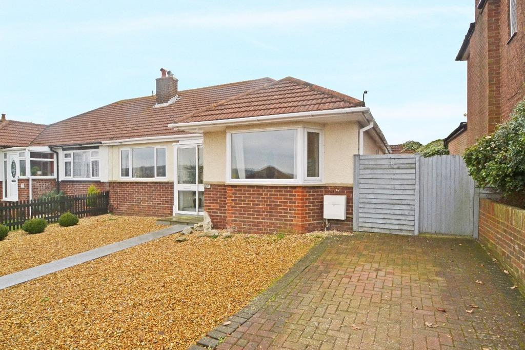2 Bedrooms Semi Detached House for sale in Downs Valley Road Woodingdean East Sussex BN2