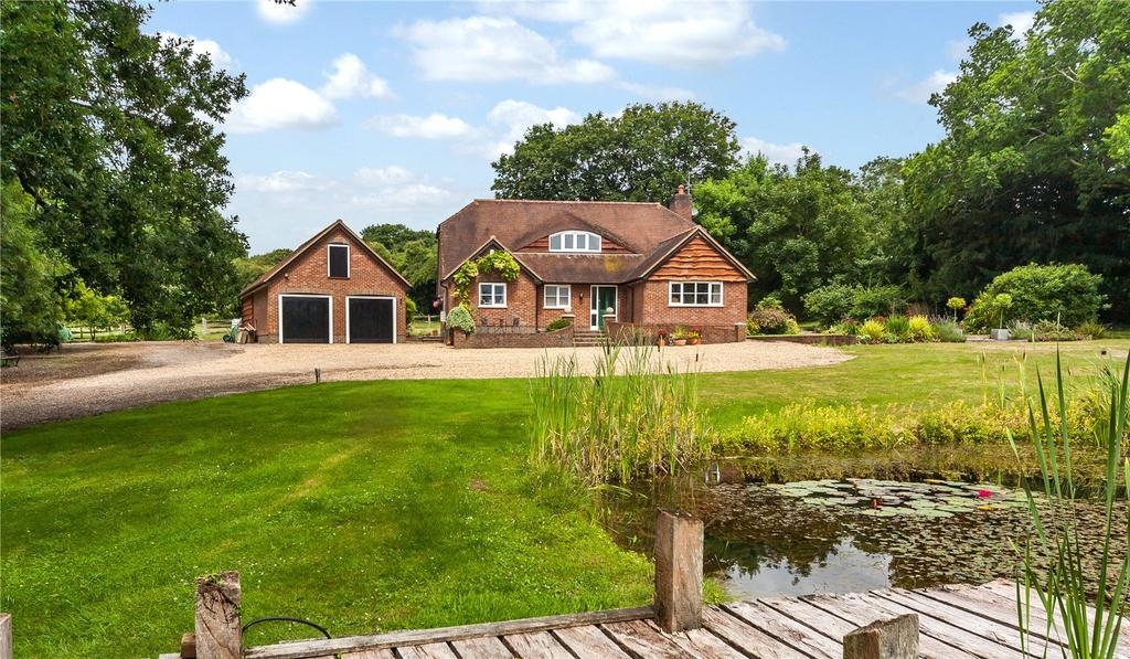 4 Bedrooms Detached House for sale in Brickworth Down, Whiteparish, Salisbury, Wiltshire, SP5