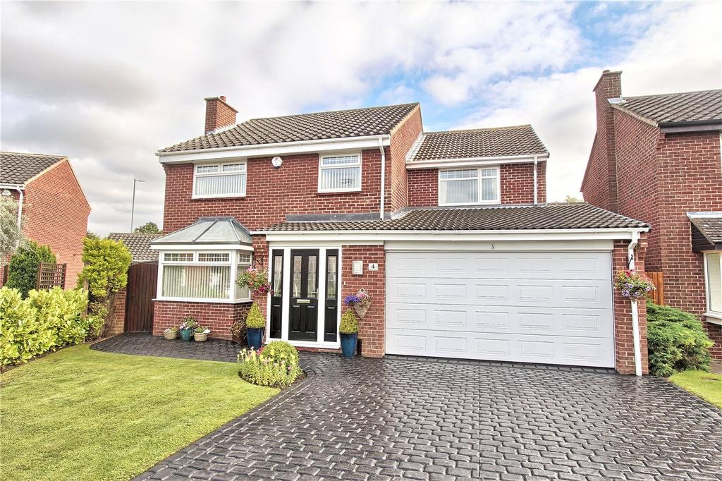 4 Bedrooms Detached House for sale in Abbey Close, Fairfield