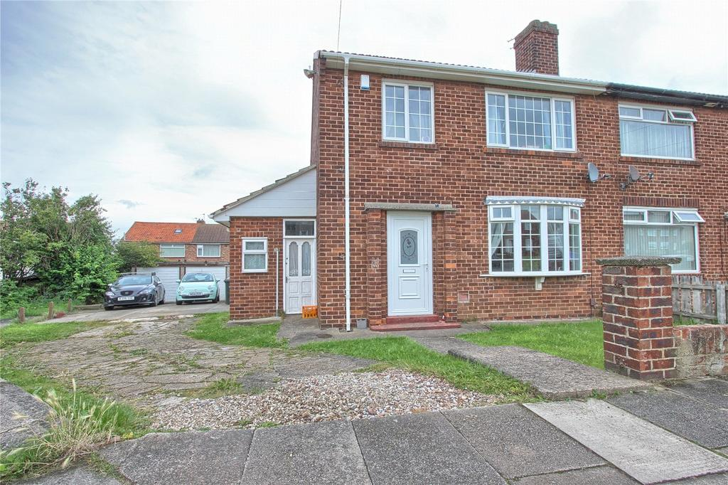 3 Bedrooms Semi Detached House for sale in Limes Crescent, Marske-By-The-Sea