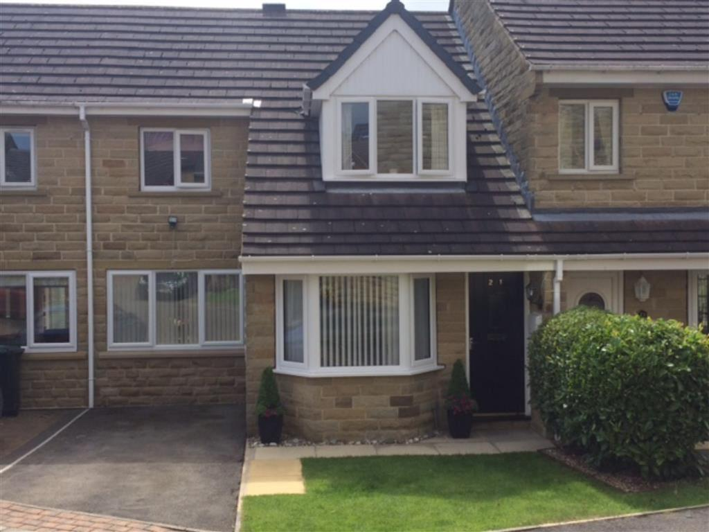 3 Bedrooms Town House for sale in Elder Mews, Shelley, Huddersfield, HD8
