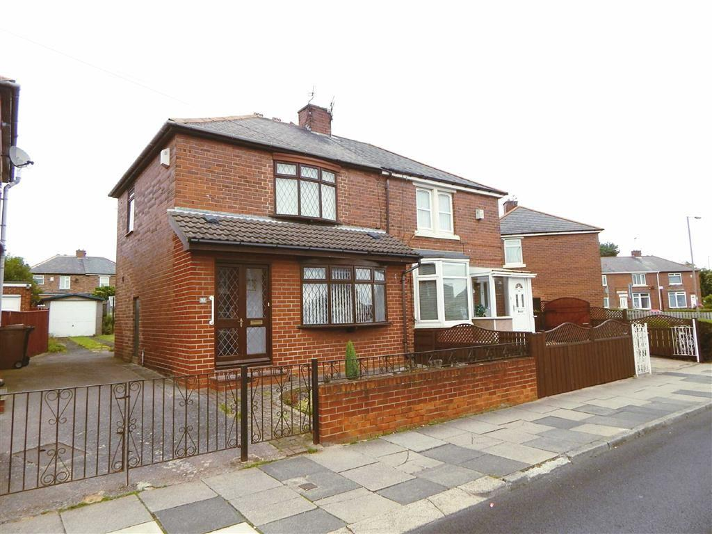 2 Bedrooms Semi Detached House for sale in Mullen Road, High Farm, Wallsend, NE28