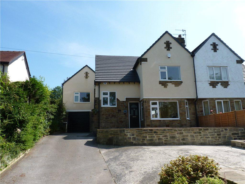 4 Bedrooms Semi Detached House for sale in Bradford Road, Sandbeds, Keighley, West Yorkshire