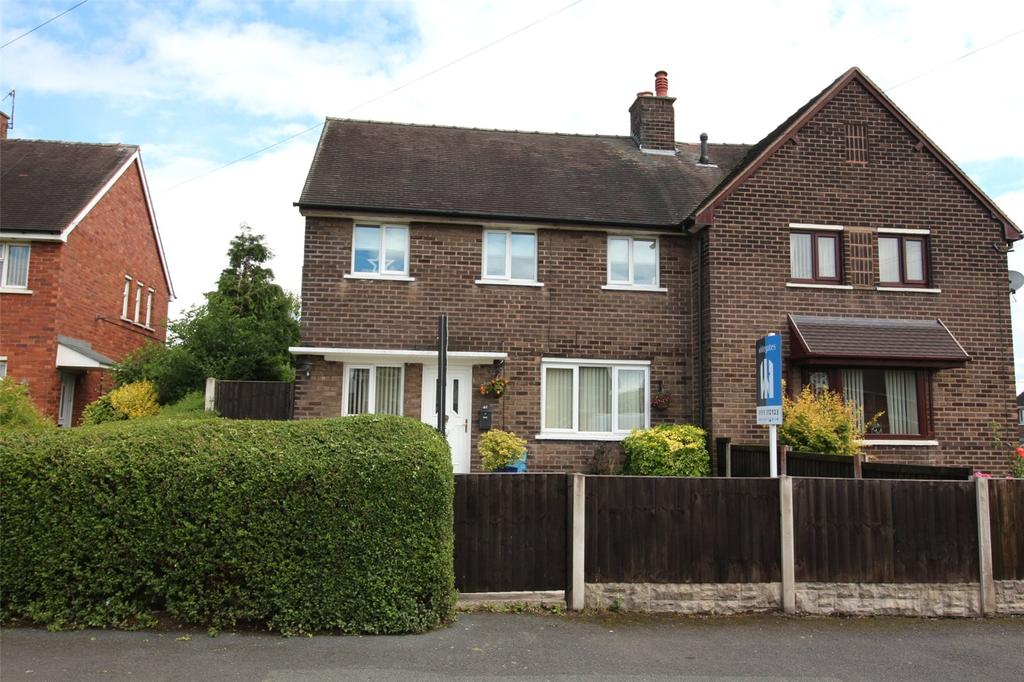3 Bedrooms Semi Detached House for sale in Bryn Hedd, Southsea, Wrexham, LL11
