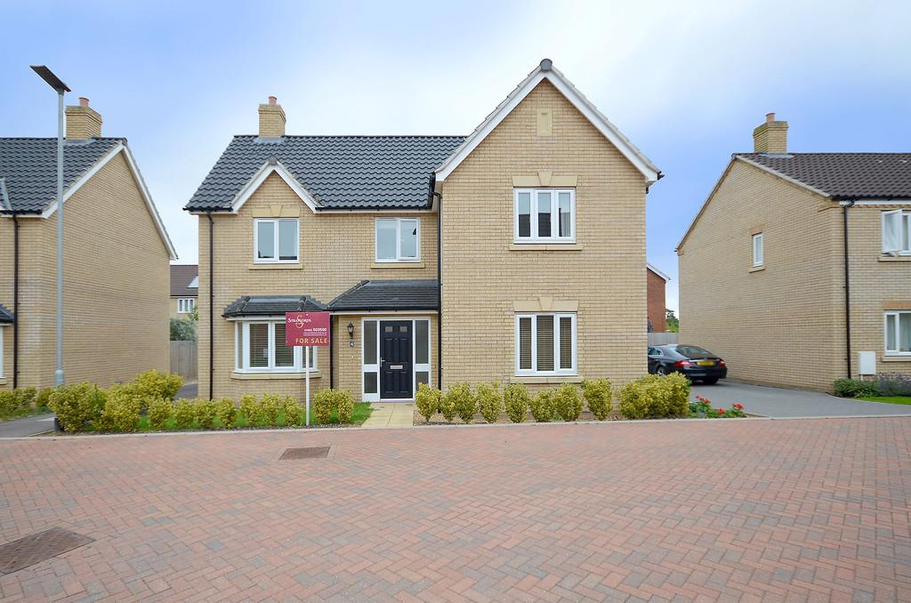 4 Bedrooms Detached House for sale in Juniper Close, Cringleford