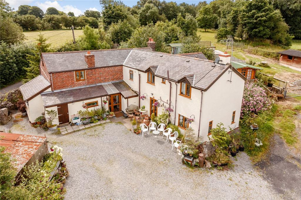 4 Bedrooms Detached House for sale in Pen Y Fron Road, Pantymwyn, Mold, Clwyd