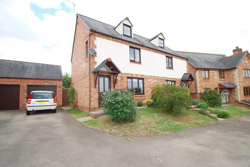 3 Bedrooms Semi Detached House for sale in Hospital Lane, Powick