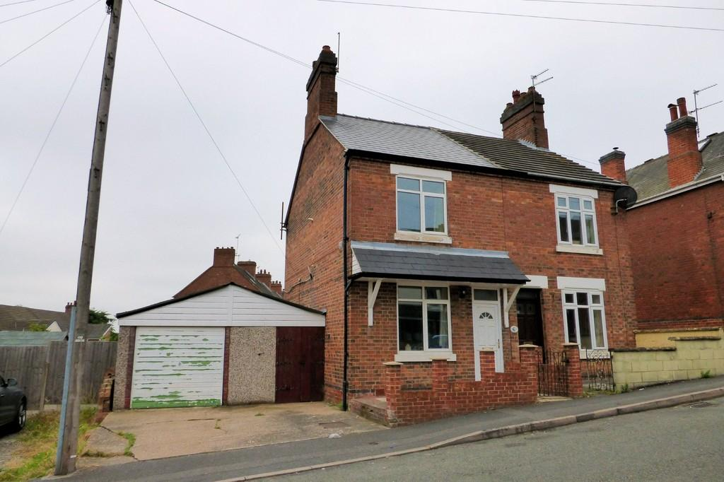 2 Bedrooms Semi Detached House for sale in Stanhope Road, Swadlincote