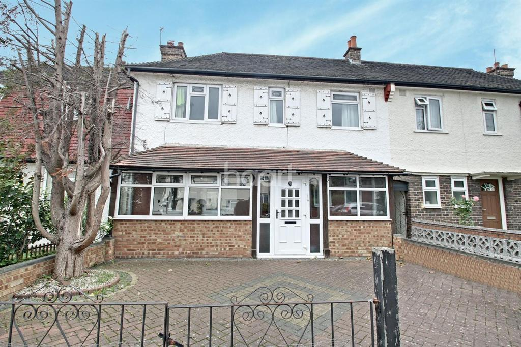 3 Bedrooms Terraced House for sale in Effingham Road, Croydon, CR0