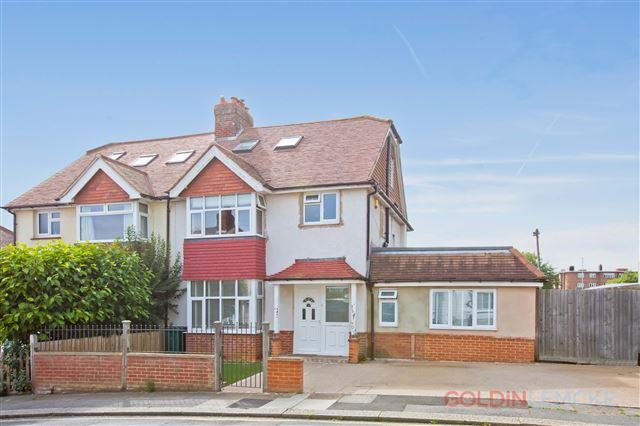 4 Bedrooms Semi Detached House for sale in Orchard Avenue, Hove