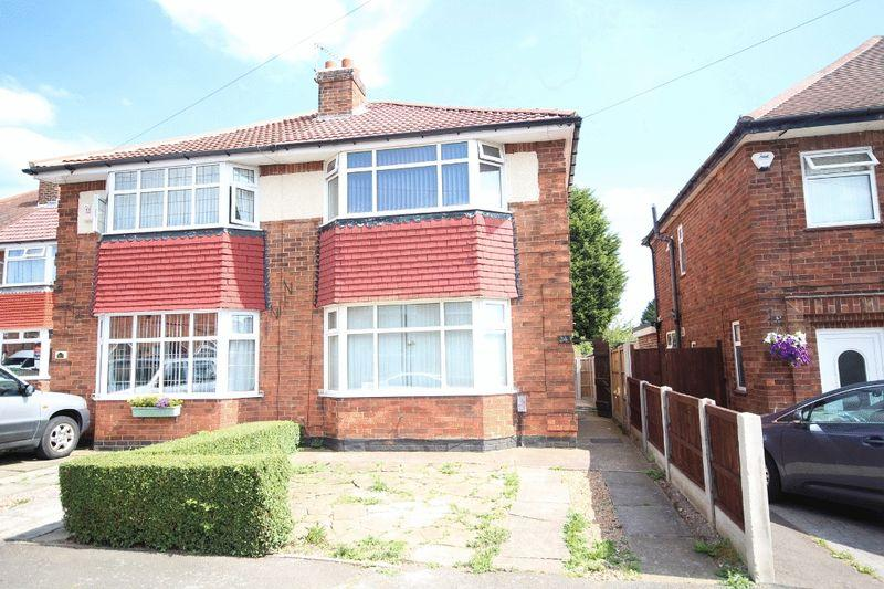 2 Bedrooms Semi Detached House for sale in RADCLIFFE DRIVE, DERBY