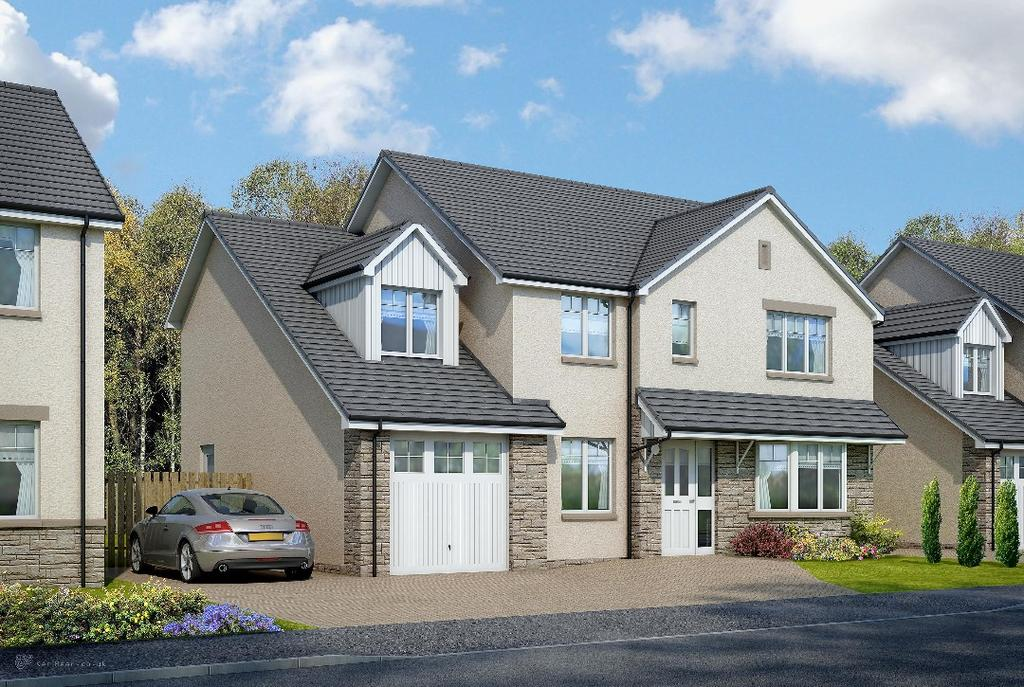 5 Bedrooms Detached House for sale in The Torridon, Heartlands, Whitburn, West Lothian, EH47 0NY