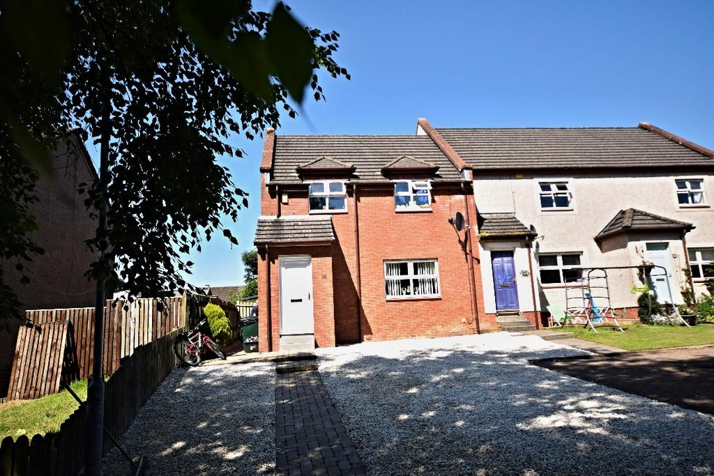 3 Bedrooms End Of Terrace House for sale in Robertson Place, Dalrymple, South Ayrshire, KA6 6EG
