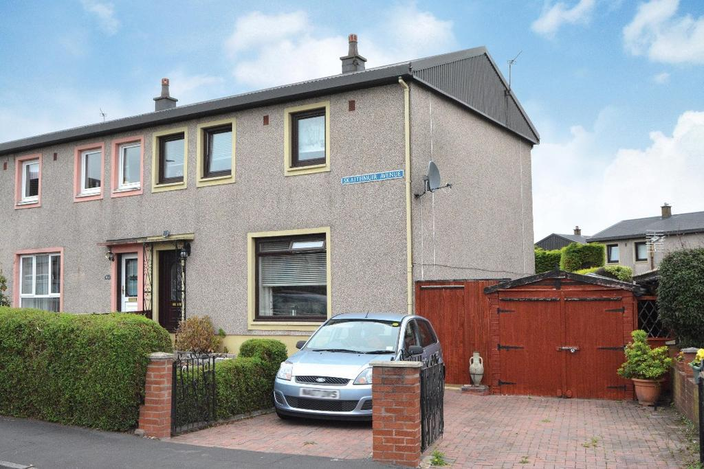 3 Bedrooms Semi Detached House for sale in Skaithmuir Avenue, Carronshore, Falkirk, FK2 8BZ