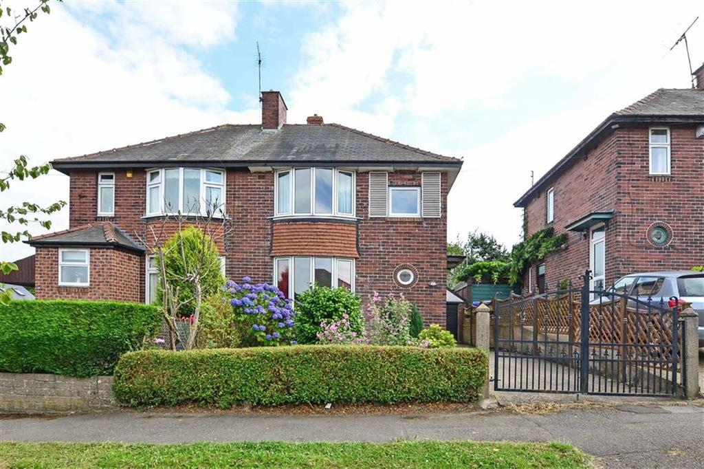 3 Bedrooms Semi Detached House for sale in 46, Thorpe House Avenue, Norton Lees, Sheffield, S8