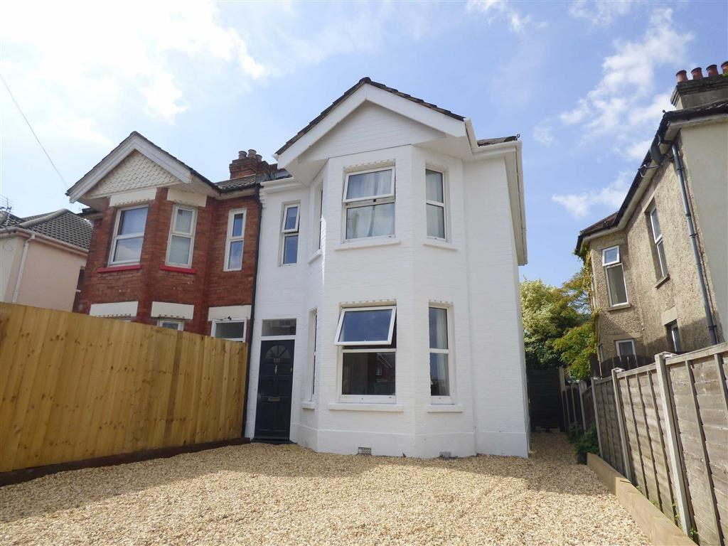 4 Bedrooms Semi Detached House for sale in Malmesbury Park Road, Charminster, Bournemouth, BH8