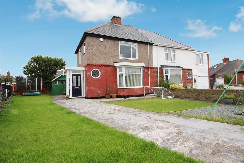 3 Bedrooms Semi Detached House for sale in Elmwood Crescent, Walkerville, Newcastle Upon Tyne
