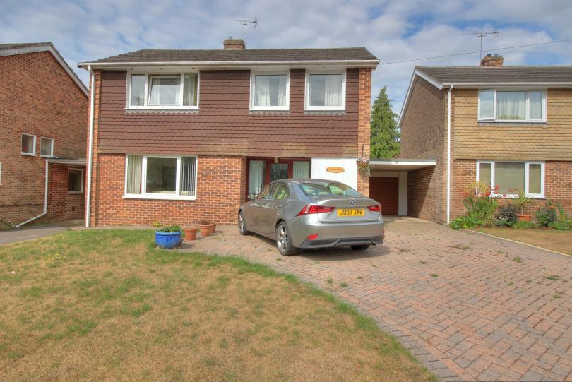 4 Bedrooms Detached House for sale in Hocombe Drive, Hiltingbury, Chandlers Ford