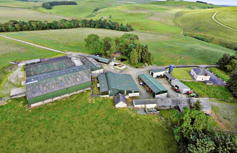 5 Bedrooms Farm Land Commercial for sale in Pearsbyhall Farm, Lockerbie, Dumfriesshire DG11 2QQ